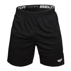 Shorty Athletics czarne -  Beltor®