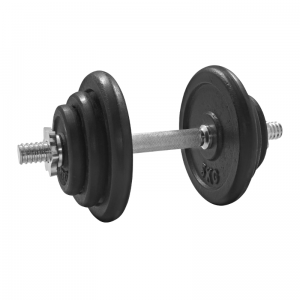 Hantla żeliwna regulowana 20kg/28mm Platinum Fitness