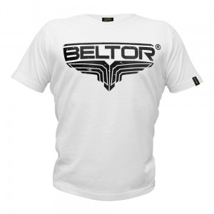 T-shirt Fight Brand Classic kolor biały Beltor®