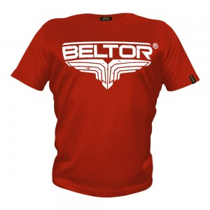 T-shirt Fight Brand Classic kolor czerwony Beltor®