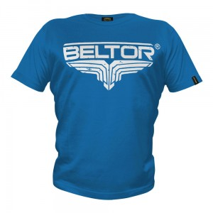 T-shirt Fight Brand Classic kolor niebieski Beltor®