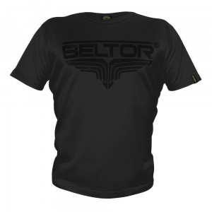 "T-shirt ""Black on Black FB"" czarny Beltor®"