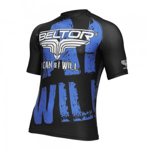 Rashguard męski Short Sleeve I Can & I Will - Beltor
