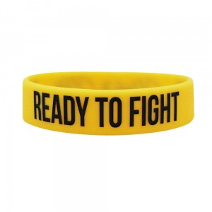 Opaska silikonowa (Wristband) Ready to fight - Beltor®