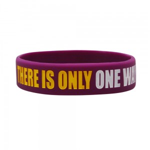 Opaska silikonowa (Wristband) There is only one way to the victory - Beltor®