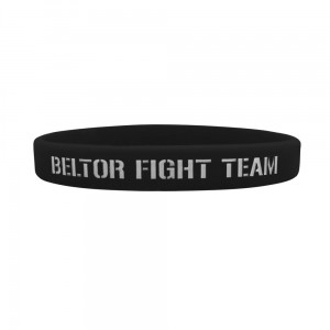 Opaska silikonowa (Wristband) slim Beltor Fight Team- Beltor®
